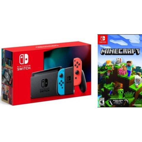 Nintendo Switch 续航增强版 + 我的世界