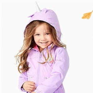50-60% Off + Extra 25% Off $40+Carter's Kids Outerwear and Cold Weather Accessories