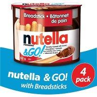 Nutella 饼干棒蘸榛子巧克力酱 4枚装