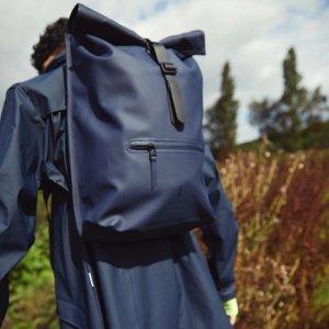 无门槛7折 大热款双肩包仅£41即将截止:RAINS 限时闪促 全球最佳机能设计背包 科学设计为你挡风挡雨