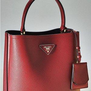 新用户85折 £194收经典款钱包Prada 全线包包潮流配饰热促 封面同款包包有货