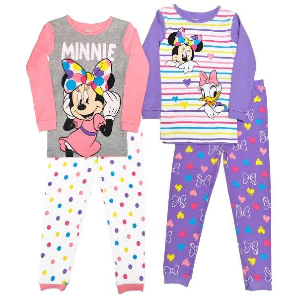 小童米妮睡衣4件套
