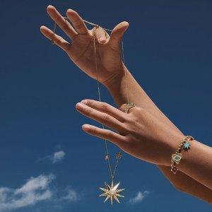 无门槛7折!张嘉倪、周洁琼同款Lucky Goddess 系列夏季大促 戒指、手链、项链精美首饰好价热卖中