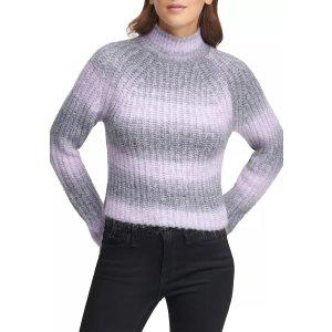 DKNY条纹毛衣