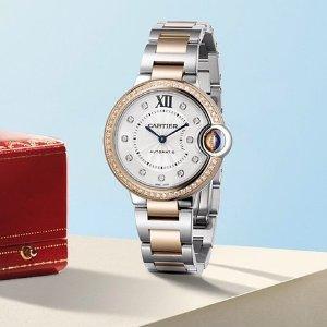 $13525Dealmoon Exclusive: CARTIER Ballon Bleu Silver Diamond Dial Ladies Watch