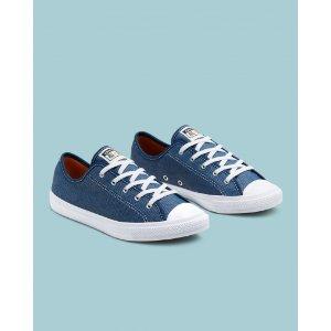 Converse蓝色帆布鞋