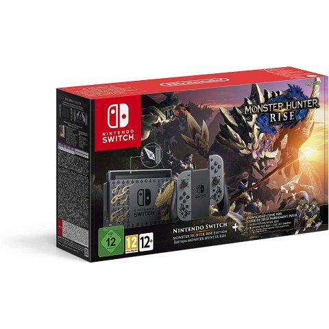 €369.99(原价€399.99)《怪物猎人 崛起》限定款 Nintendo Switch 主机 含怪猎游戏