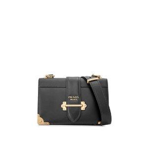 PradaCahier Large Leather Bag