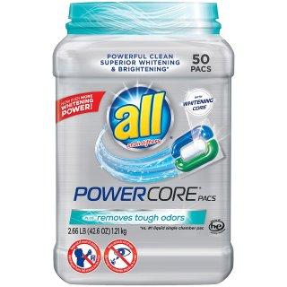 $7all Powercore 强力去渍增白洗衣球50个