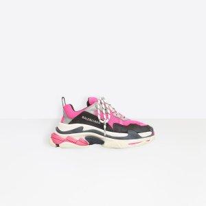 BalenciagaTriple S Sneaker Rose Bubble Gum for Women | Balenciaga
