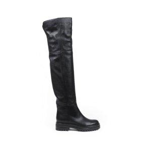 Gianvito Rossi黑色皮靴