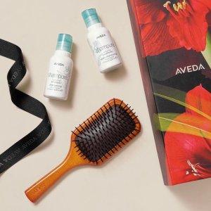 返$35+送头皮按摩梳(值$50)Aveda 世界级植萃护发 Invati生发、纯香1L装更超值