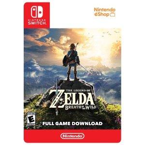 Nintendo塞尔达 荒野之息