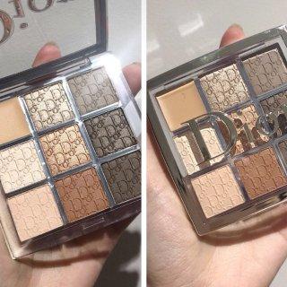 秋日温柔气质眼妆 |可盐可甜的Dior Backstage眼影盘众测
