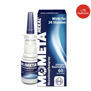 折后€7.55 原价€12.2 花粉过敏救星MometaHEXAL 鼻喷雾 可持续24小时缓解花粉过敏