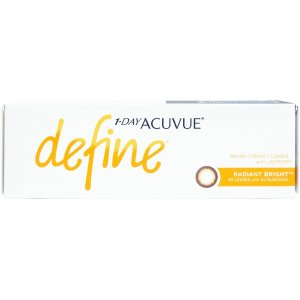 Acuvue1 Day Acuvue Define Radiant Bright with LACREON | lenspure
