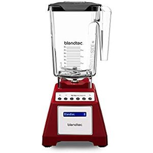 Amazon.com: Blendtec Total Classic Original Blender - WildSide+ Jar (90 oz) - Professional-Grade Power - 6 Pre-programmed Cycles - 10-speeds - Red: Electric Countertop Blenders: Kitchen & Dining