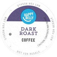HAPPY BELLY 深度烘焙咖啡胶囊 100粒装 亚马逊自营品牌