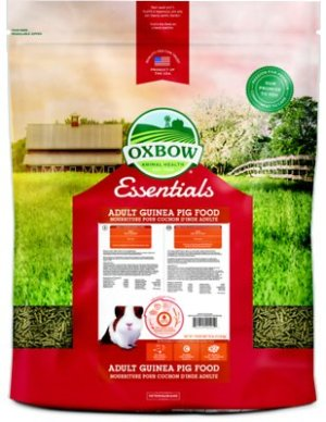 Oxbow Essentials Cavy Cuisine Adult Guinea Pig Food, 25-lb bag - Chewy.com