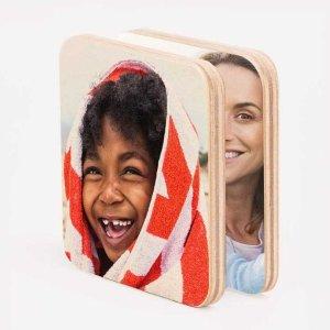 Walgreens 3x3 木制磁力相片2个