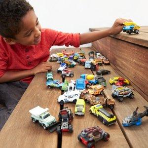 $29.99 (原价$49.97) 超划算手慢无:Matchbox 经典50辆小汽车玩具 细节超逼真