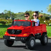 Mercedes-Benz 24V双人座儿童电动车,多色选