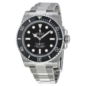 RolexSubmariner Automatic Black Dial Men's Watch 114060