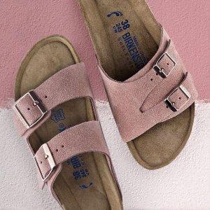 低至7.5折Birkenstock 精选百搭舒适拖鞋热卖