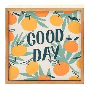 sonoma goods for life® Good Day Caption Box Wall Decor