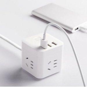 7折起 €4.4收6接口排插Amazon 限时折扣 排插、充电站等 一次性解决所有充电问题