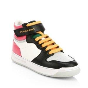 Moncler卫衣$80.29 Burberry球鞋$125.86折扣升级:Burberry, Gucci 等大牌儿童服饰低至2.5折 超多款 有大码