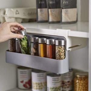 $14.99Joseph Joseph CupboardStore Spice Organizer 3M Tape Under-Shelf Pull Out Drawer Storage for Cabinet