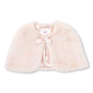 180705948 The Children's Place Baby And Toddler Girls Short Sleeve Faux Fur Shrug · The  Children's PlaceGirls Faux Fur Cape
