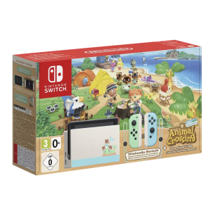 售价€379手慢无:NINTENDO Switch 动森版补货!超萌主机配色!