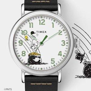 最高额外7.5折Timex 手表特卖,好价收星月镂空机械款