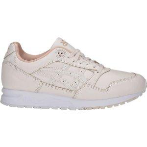 Asics乳白色厚底鞋