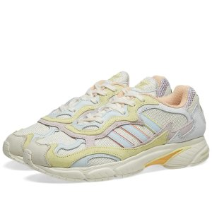 AdidasTemper Run PrideOff White, Blue & Yellow