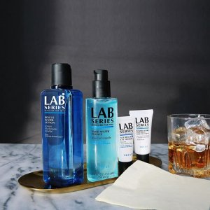 $25 Off + Free Deluxe Sample Duowith $75 Purchase @ Lab Series For Men