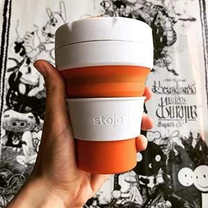 低至7.7折 £9.99收封面款咖啡杯Stojo 美国网红折叠随行杯热卖 冬季暖心之选