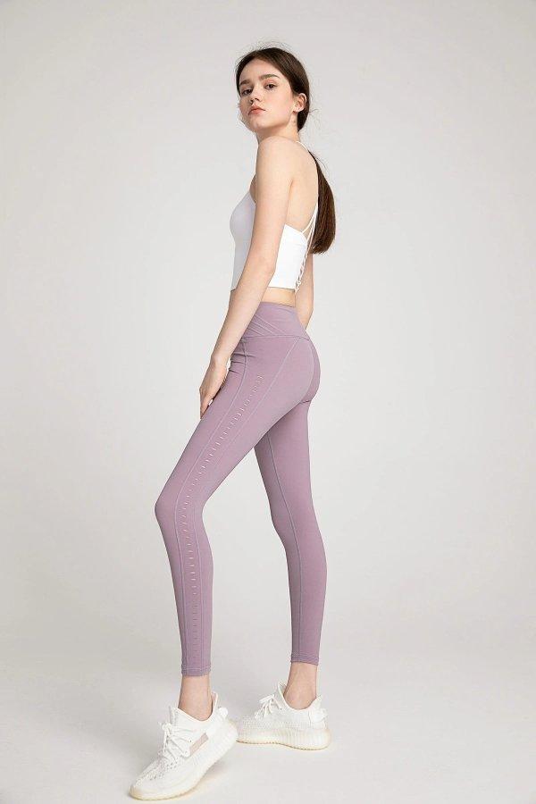 Honeysuckle Lavender 高腰瑜伽裤
