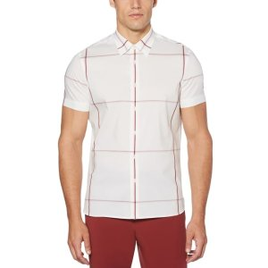 Perry EllisSlim Fit Widowpane Shirt