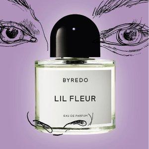 限时9折 €36.9收新品口红Byredo 北欧香氛热促 新香Lil Fleur彩色盖限定、高颜值弯曲口红
