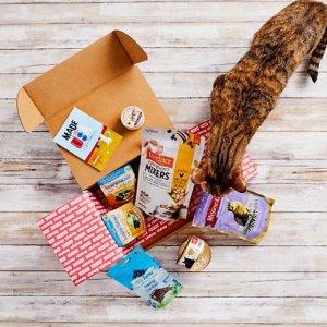 $9.95 包邮手慢无:Goody Box 美国制造猫咪礼物盒子