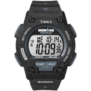"""$54.65(原价$65.99)手慢无:Timex 天美时 """"钢铁侠"""" 黑色运动手表"""