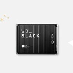 最高立减$54Western Digital WD_BLACK P10 游戏外置硬盘