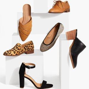 8折 收舒适穆勒鞋Madewell 精选女士美鞋热卖