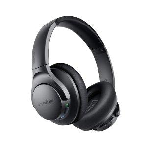 $47.99 超高性价比 更新小编测评Anker Soundcore Life Q20 蓝牙无线降噪耳机 Hi-Res高解析音质, 混合主动降噪