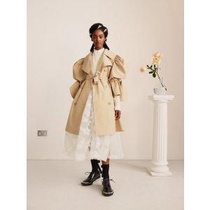 H&M廓形风衣外套