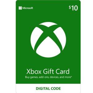 限时9折Xbox 数字礼卡特卖, 除了游戏, 还能用于购买手柄和主机
