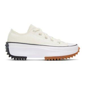 ConverseWhite Run Star Hike Low Sneakers